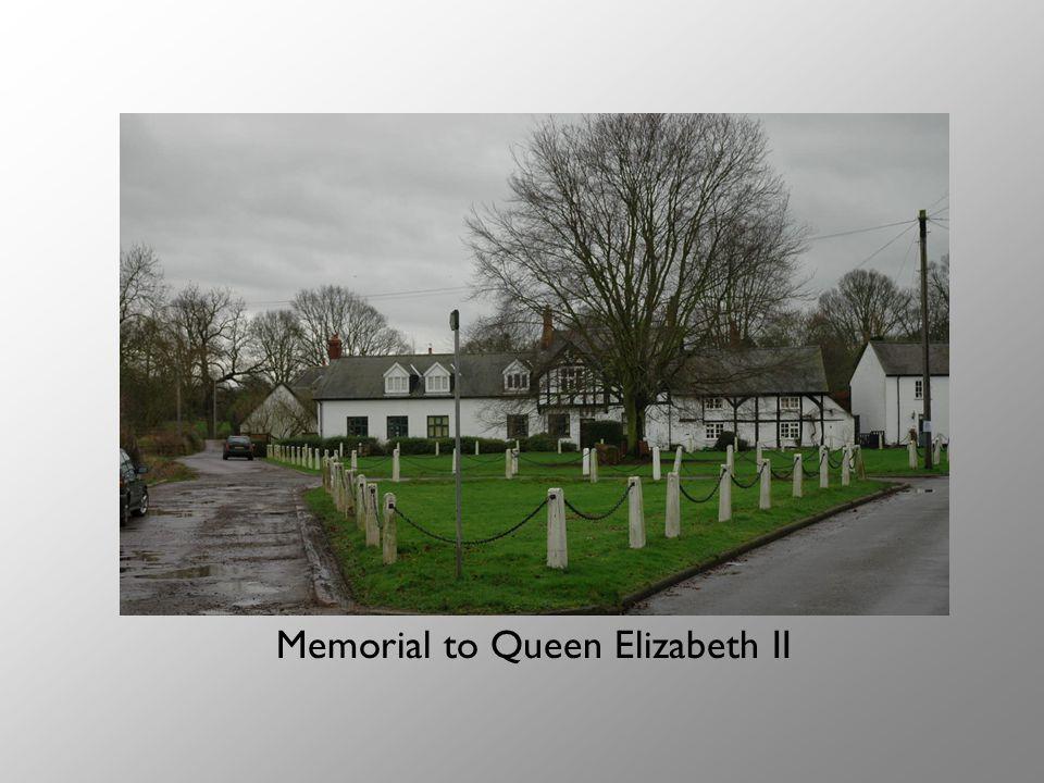 Memorial to Queen Elizabeth II