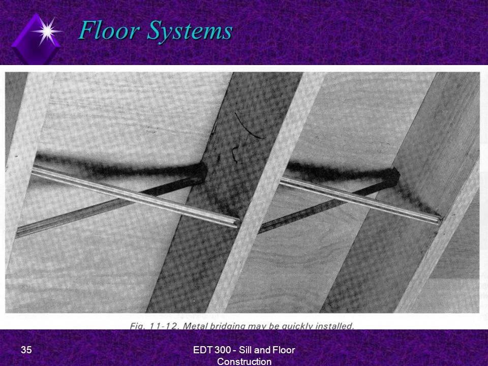 35EDT 300 - Sill and Floor Construction Floor Systems