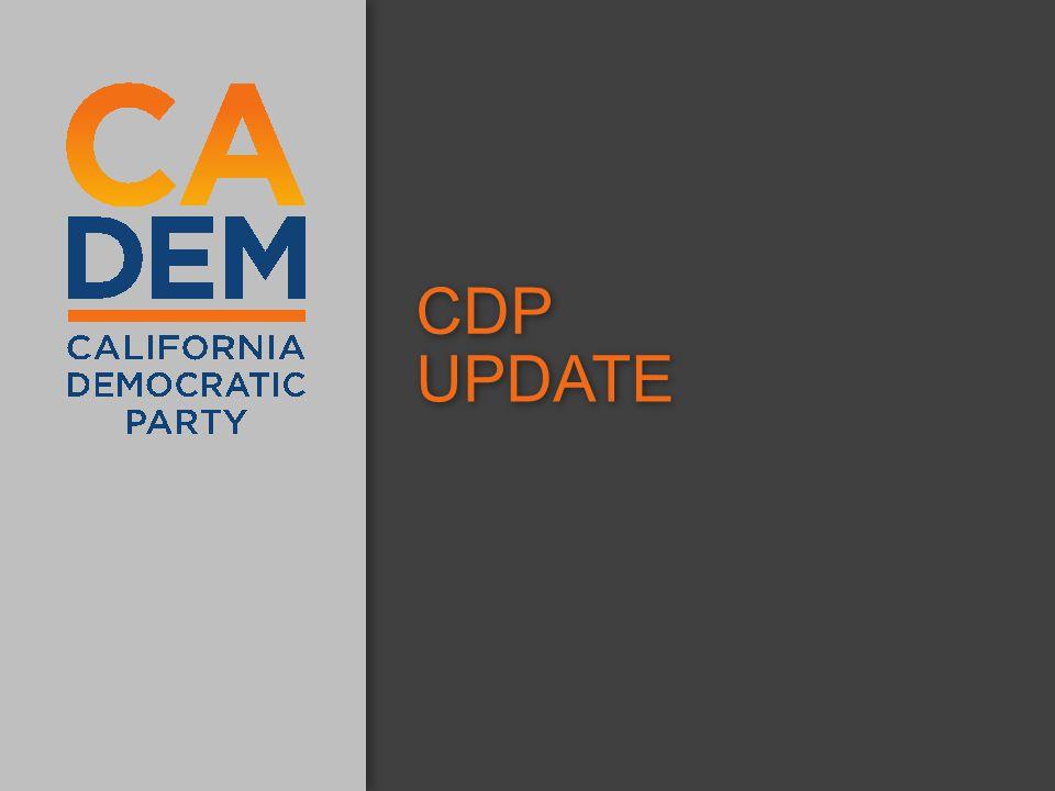 CDP UPDATE