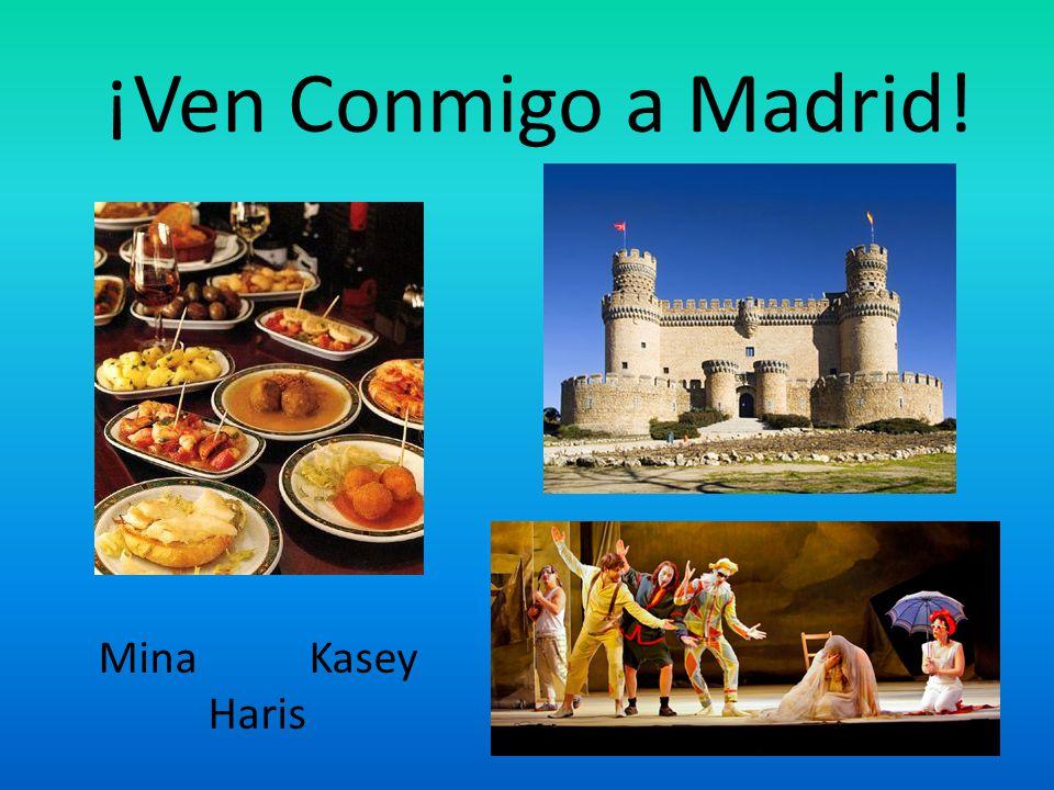 ¡Ven Conmigo a Madrid! MinaKasey Haris