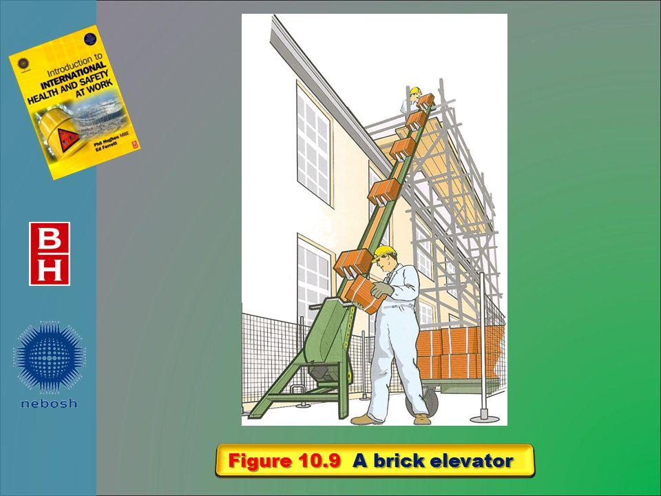 Figure 10.9 A brick elevator