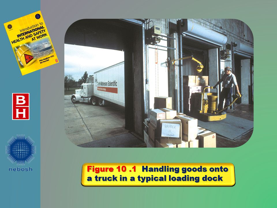 Figure 10.2 Manual handling There are many potential hazards
