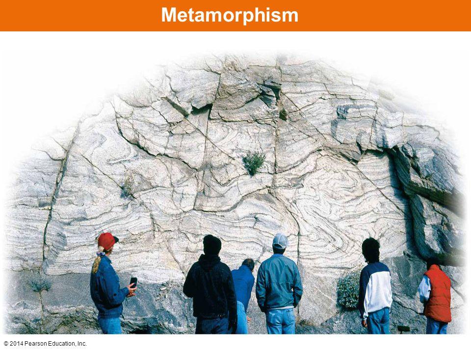 © 2014 Pearson Education, Inc. Contact Metamorphism