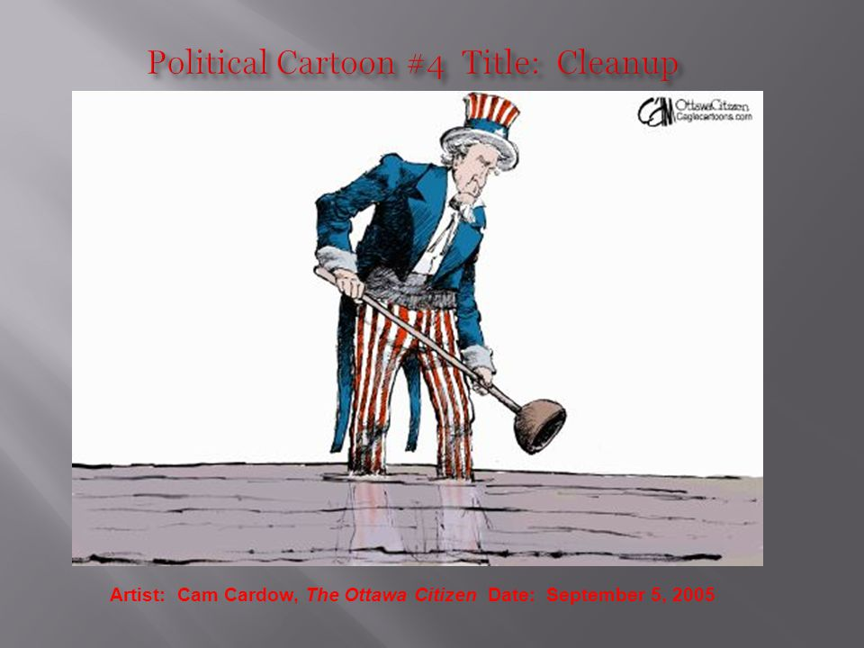 Artist: Cam Cardow, The Ottawa Citizen Date: September 5, 2005