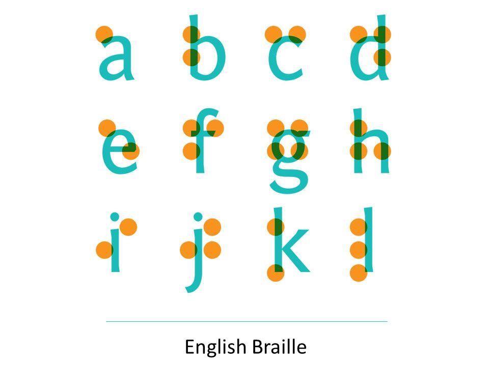 English Braille