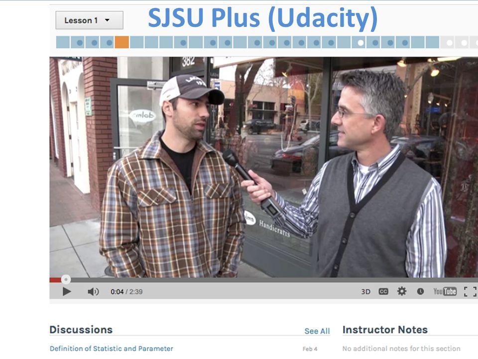 SJSU Plus (Udacity)