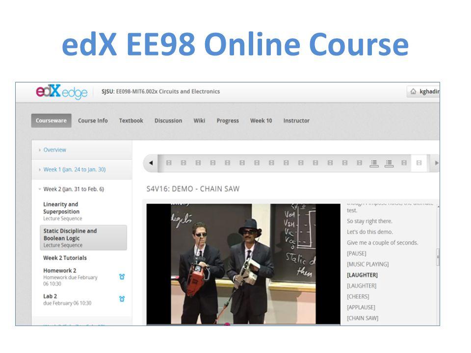 edX EE98 Online Course