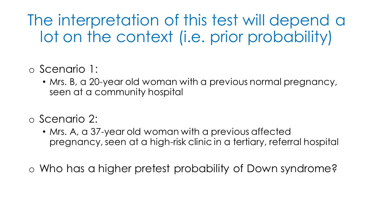The interpretation of this test will depend a lot on the context (i.e.