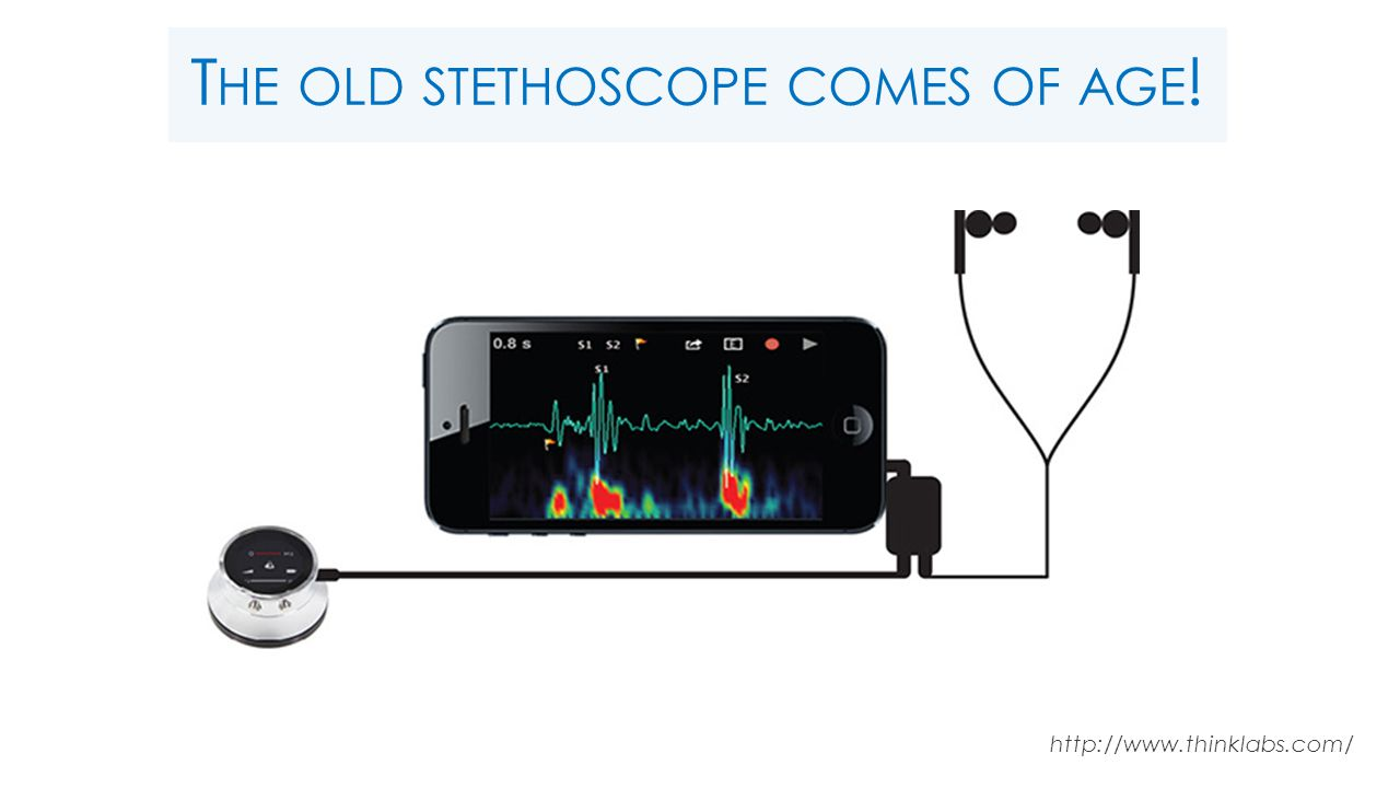 T HE OLD STETHOSCOPE COMES OF AGE ! http://www.thinklabs.com/