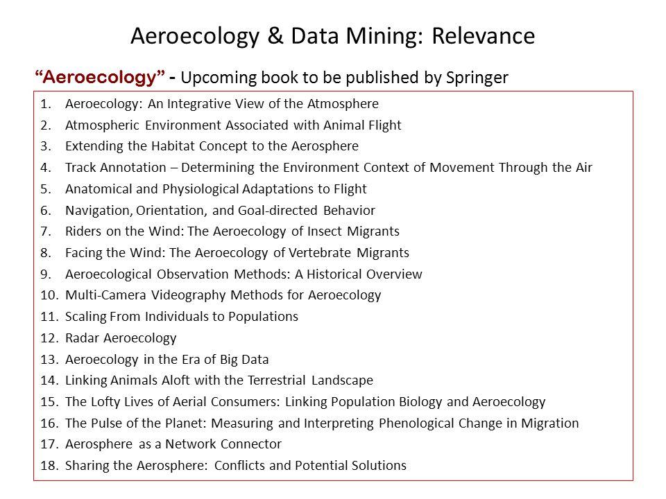 Aeroecology & Data Mining: Collaboration Interests