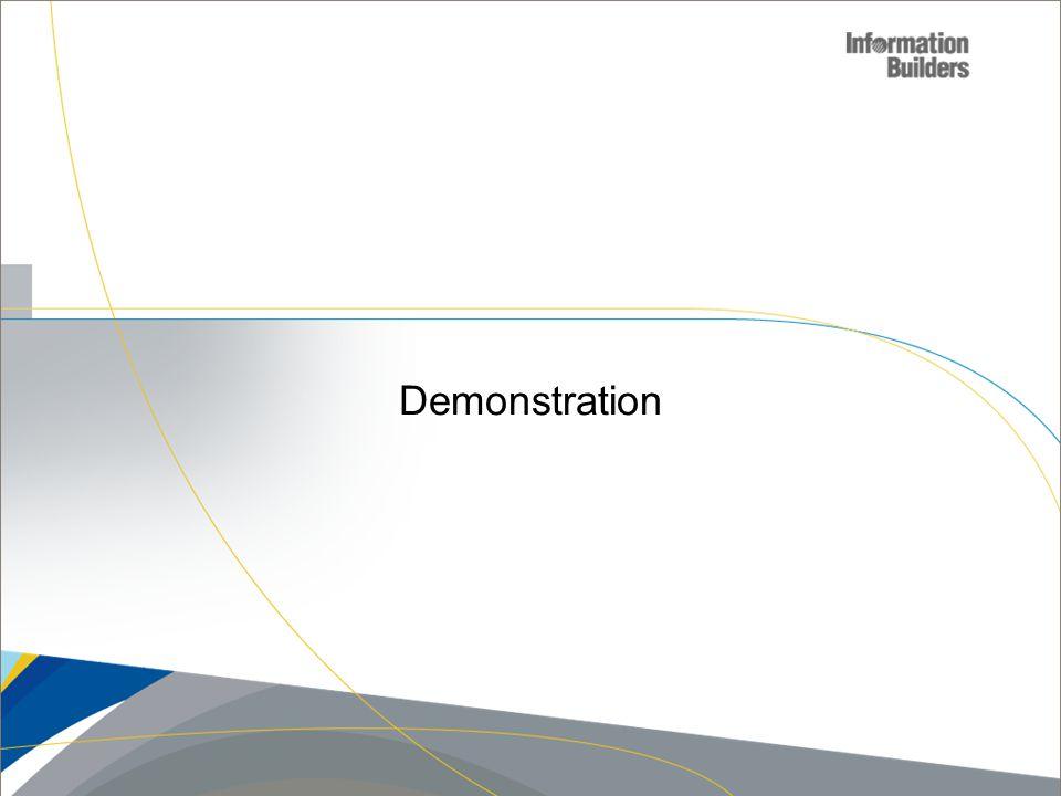 Demonstration Copyright 2007, Information Builders. Slide 15