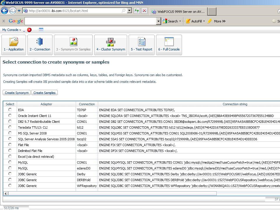 WebFOCUS Strategy for Addressing Dynamics of Database Market Copyright 2010, Information Builders.