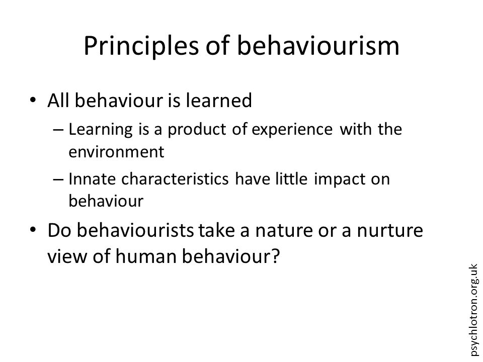 psychlotron.org.uk Read and analyse the examples of children learning.