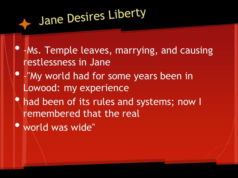 Jane Desires Liberty -Ms.