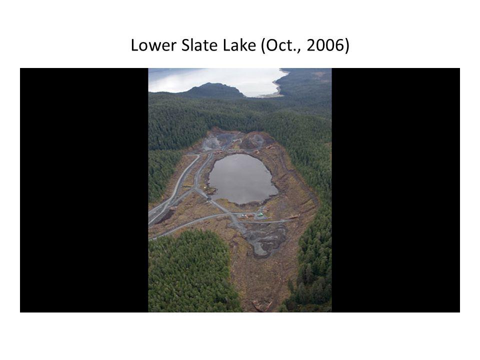 Lower Slate Lake (Oct., 2006)