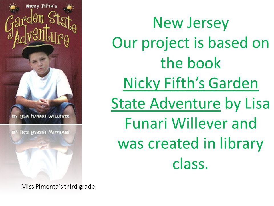 New Jersey The Garden State By 3SP - New Jersey The Garden State By 3SP -