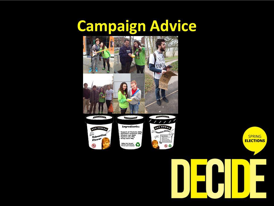 Campaign Advice