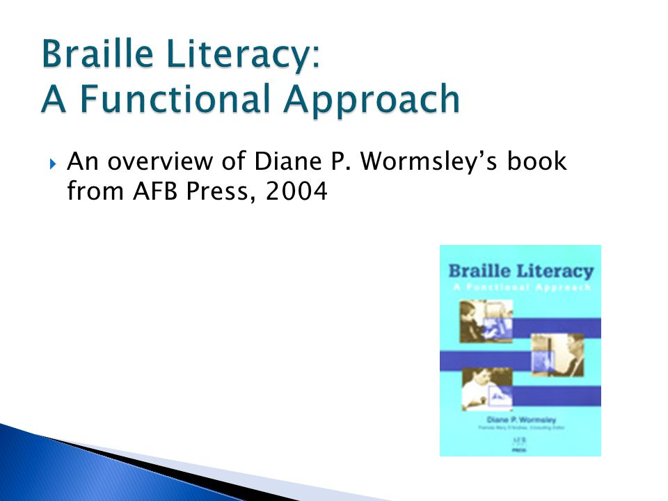  An overview of Diane P. Wormsley's book from AFB Press, 2004