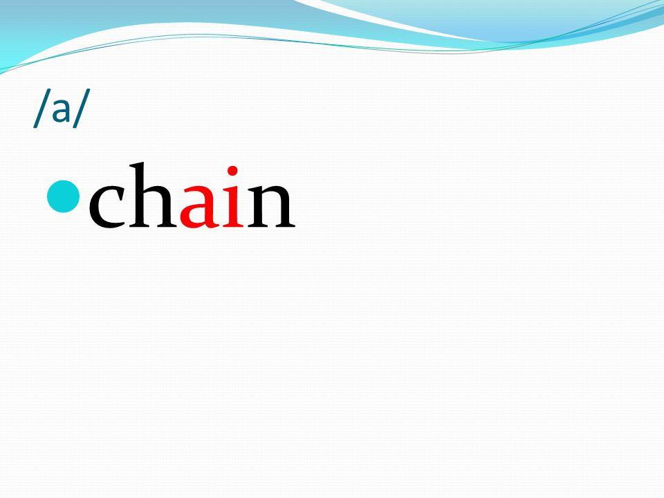 /a/ chain