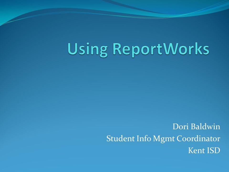 Dori Baldwin Student Info Mgmt Coordinator Kent ISD