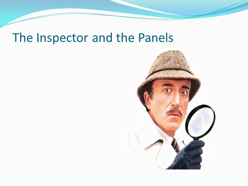 The Inspector and the Panels