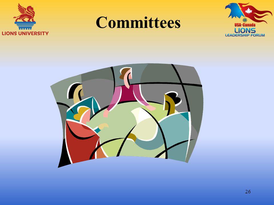 Committees 26