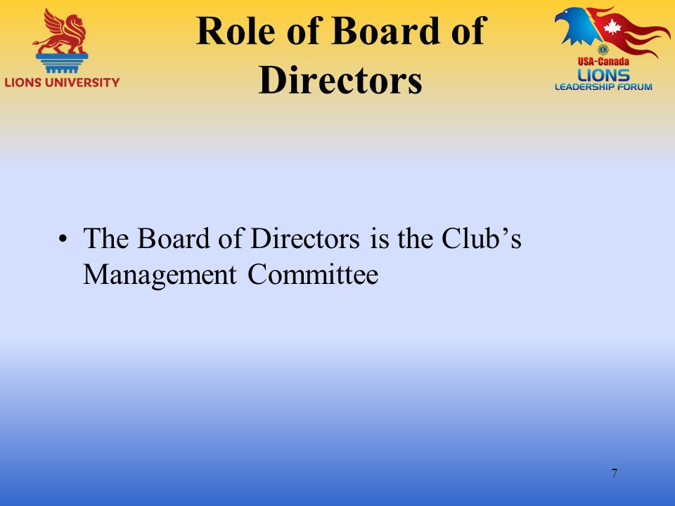 Committees (continued) Match members' interests, skills and knowledge to assignments Bring in some New Blood Provide job description/old records Regular reporting 28