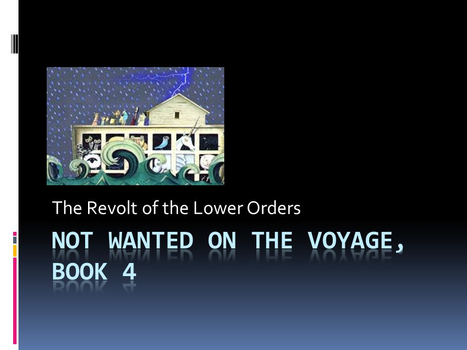 The Revolt of the Lower Orders