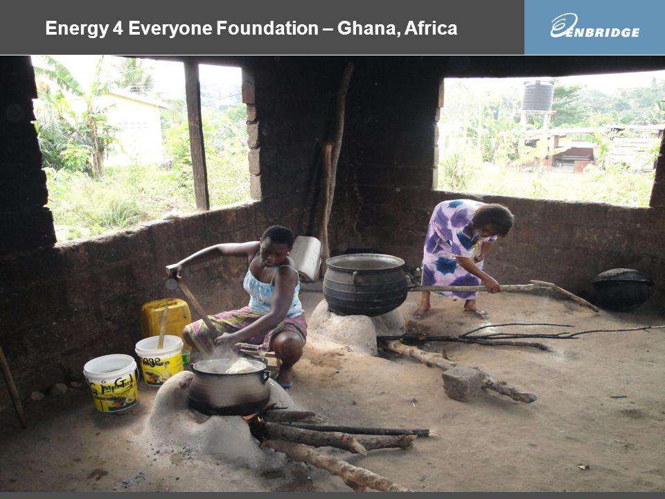 Energy 4 Everyone Foundation – Ghana, Africa