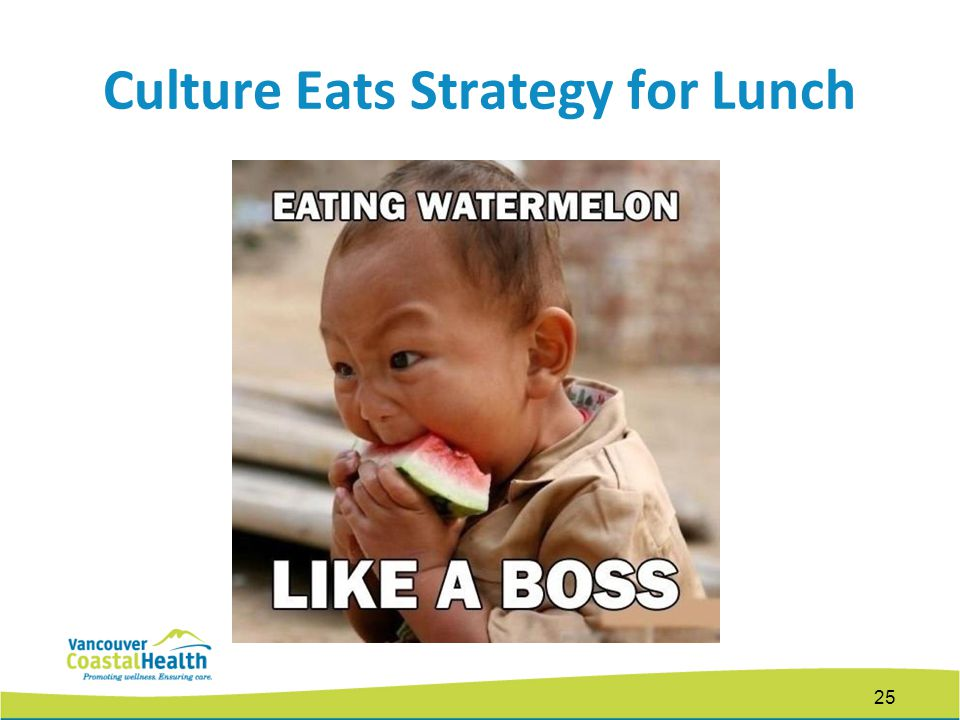 Culture Eats Strategy for Lunch 25