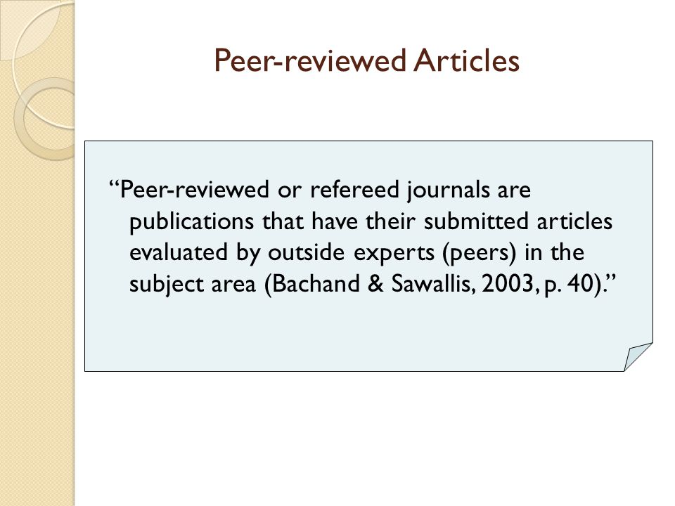 Hi! Does anyone know where I can get FREE peer reviewed online journals for students with LD,ED,MR?