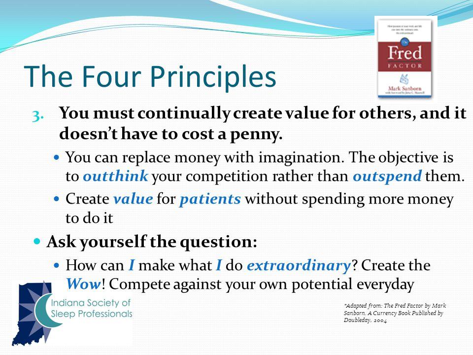 The Four Principles 3.