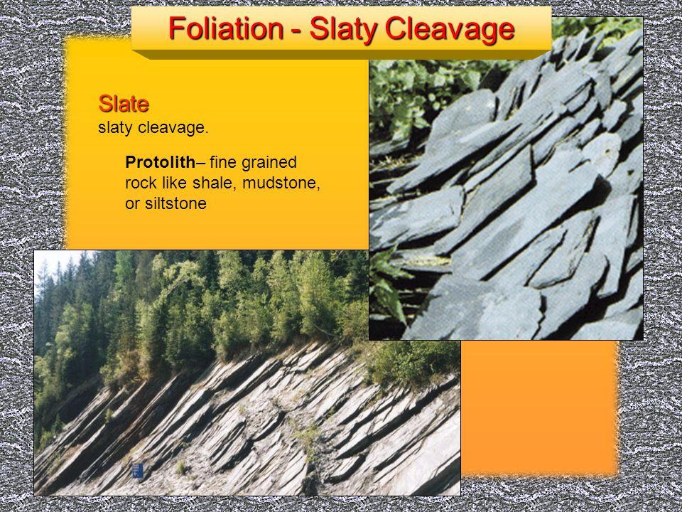 Arizona State University http://www.slu.edu Gneiss shows gneissic banding Foliation - Gneissic Banding