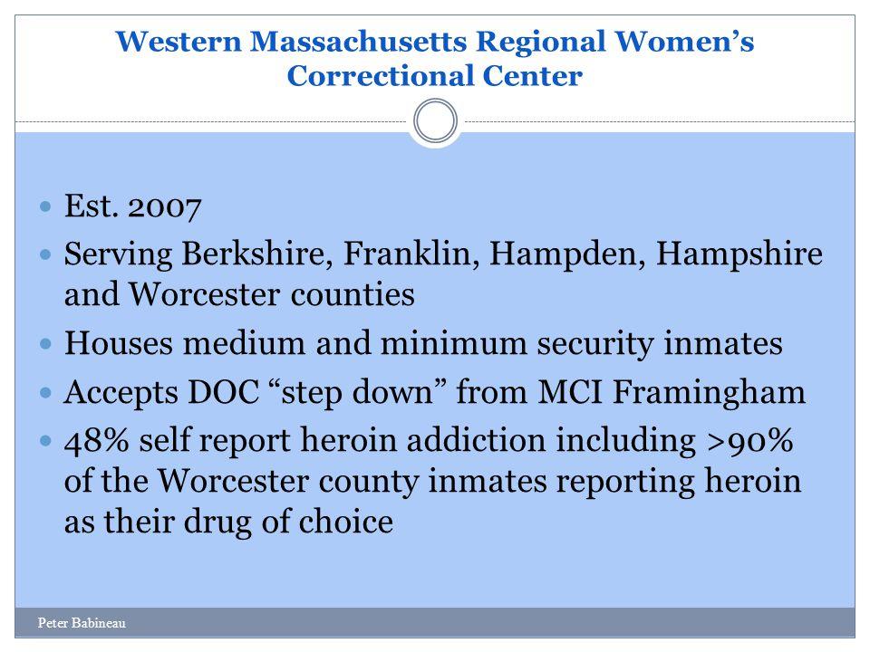 Western Massachusetts Regional Women's Correctional Center Est.