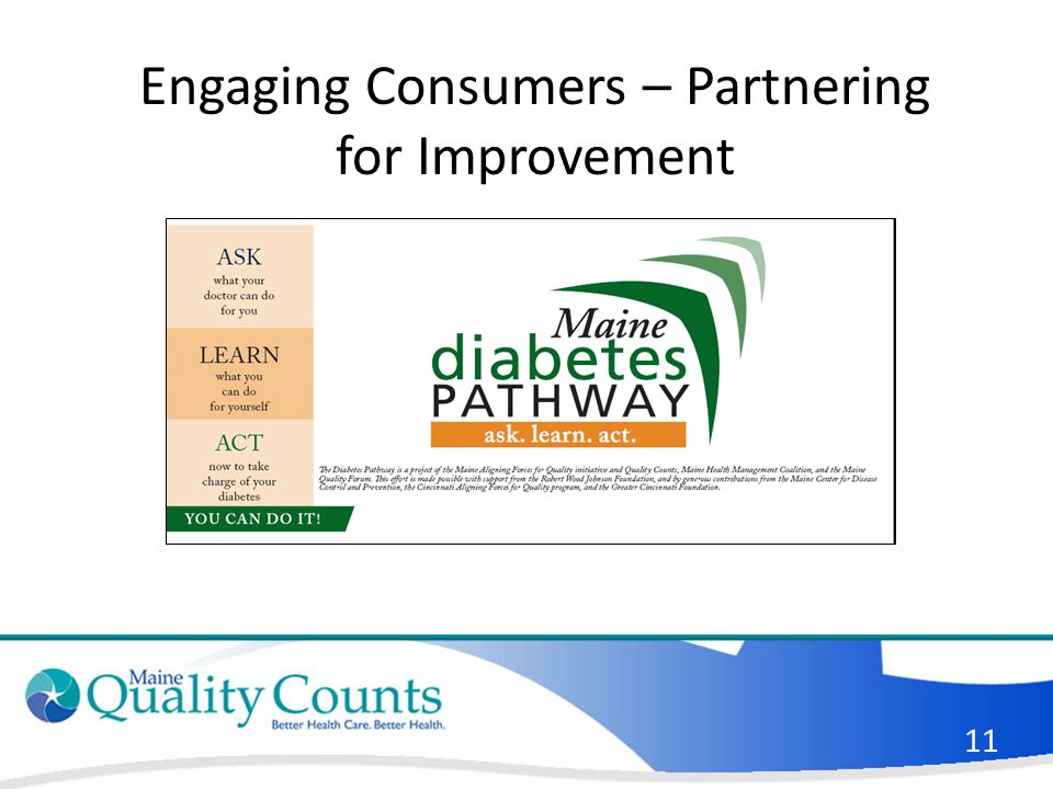 11 Engaging Consumers – Partnering for Improvement