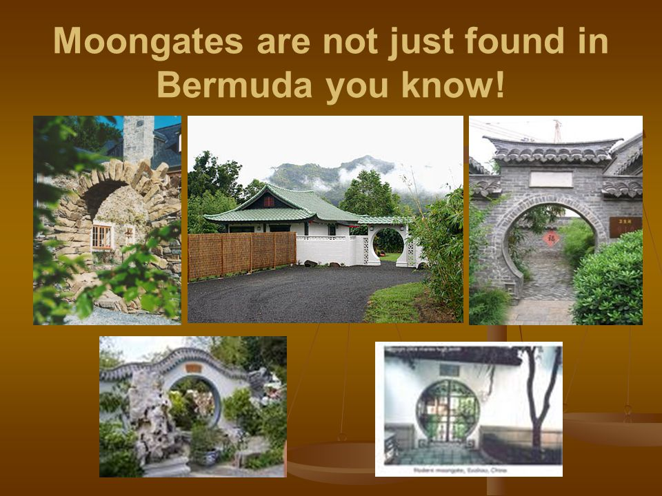 Moongates are not just found in Bermuda you know!