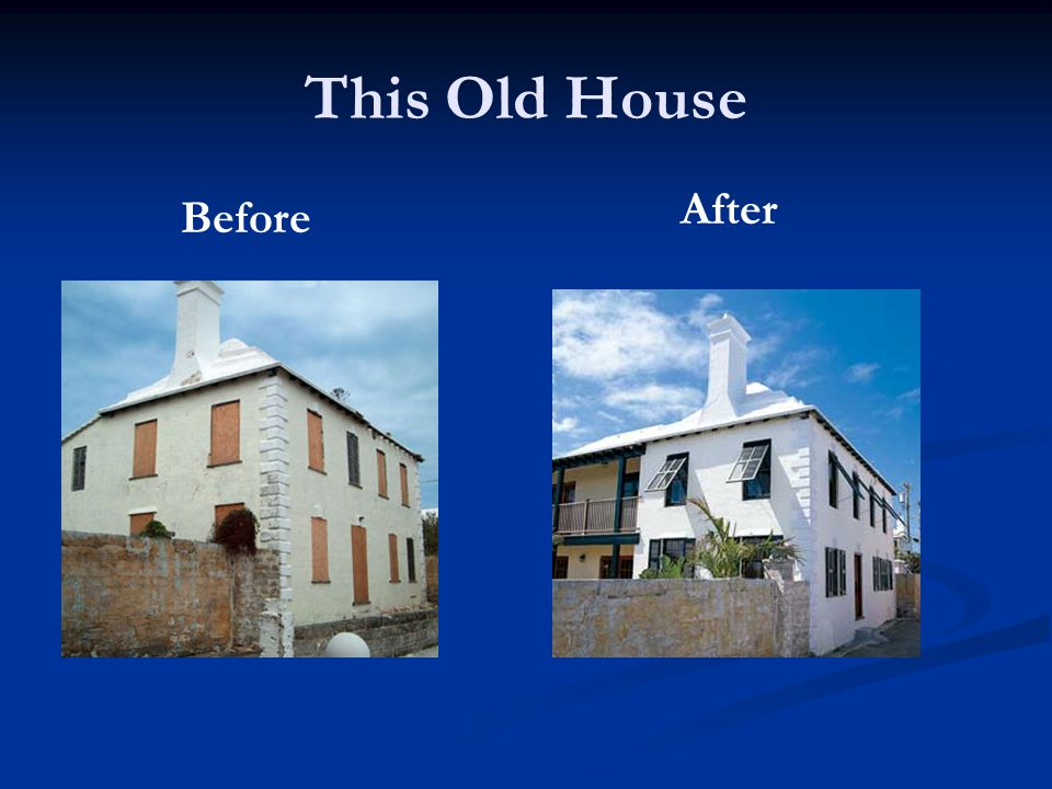 This Old House Before After