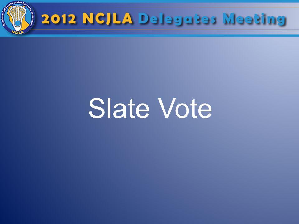 Slate Vote