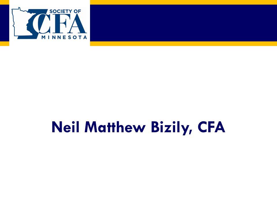 Neil Matthew Bizily, CFA