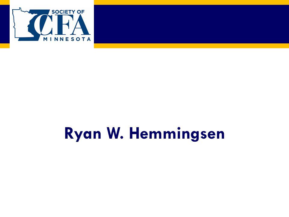 Ryan W. Hemmingsen