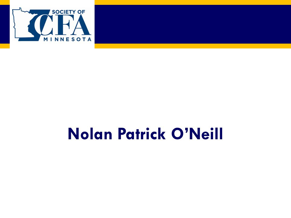Nolan Patrick O'Neill