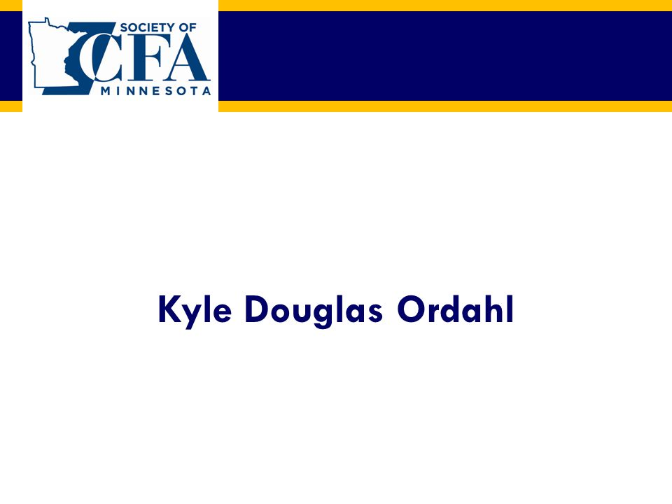Kyle Douglas Ordahl