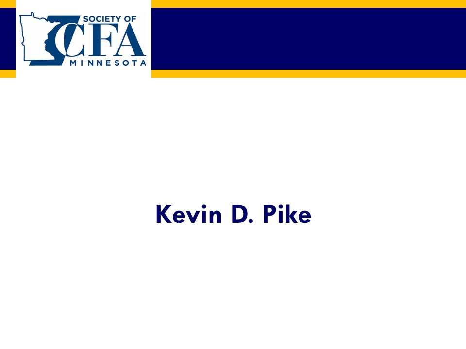 Kevin D. Pike
