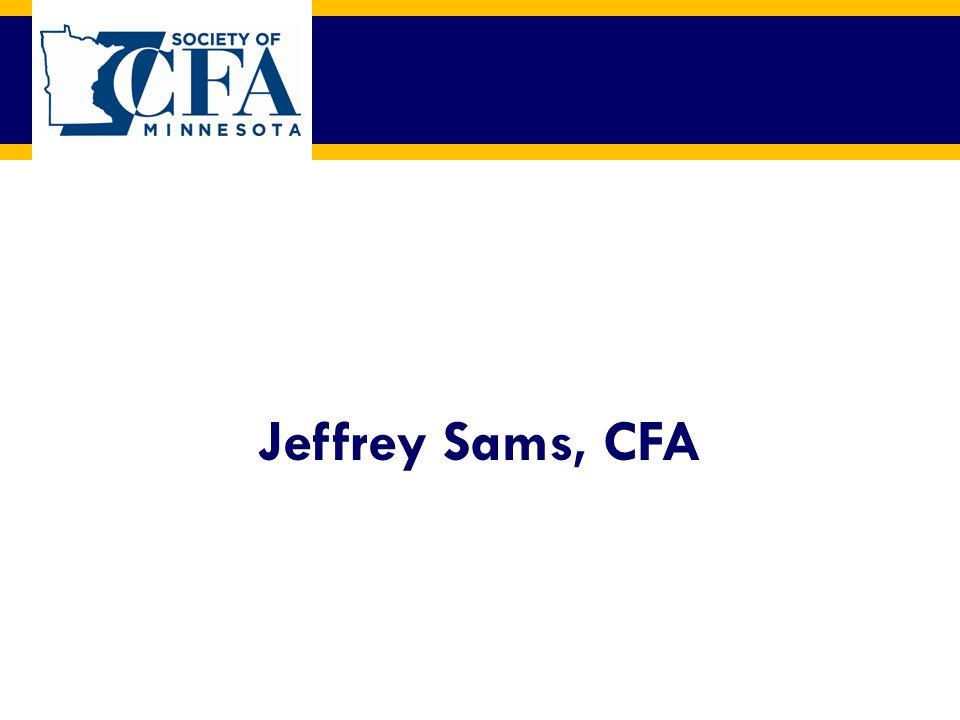 Jeffrey Sams, CFA