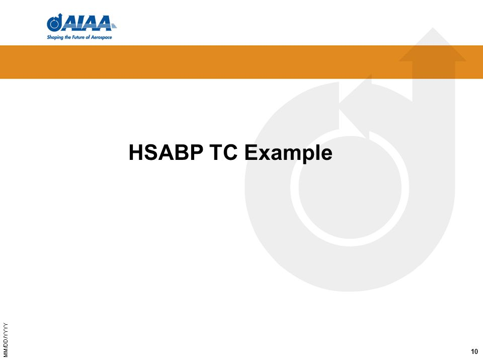 MM/DD/YYYY HSABP TC Example 10
