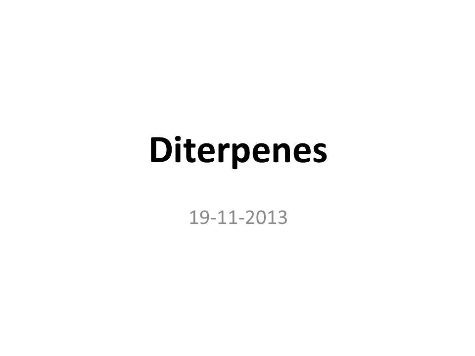 Diterpenes 19-11-2013