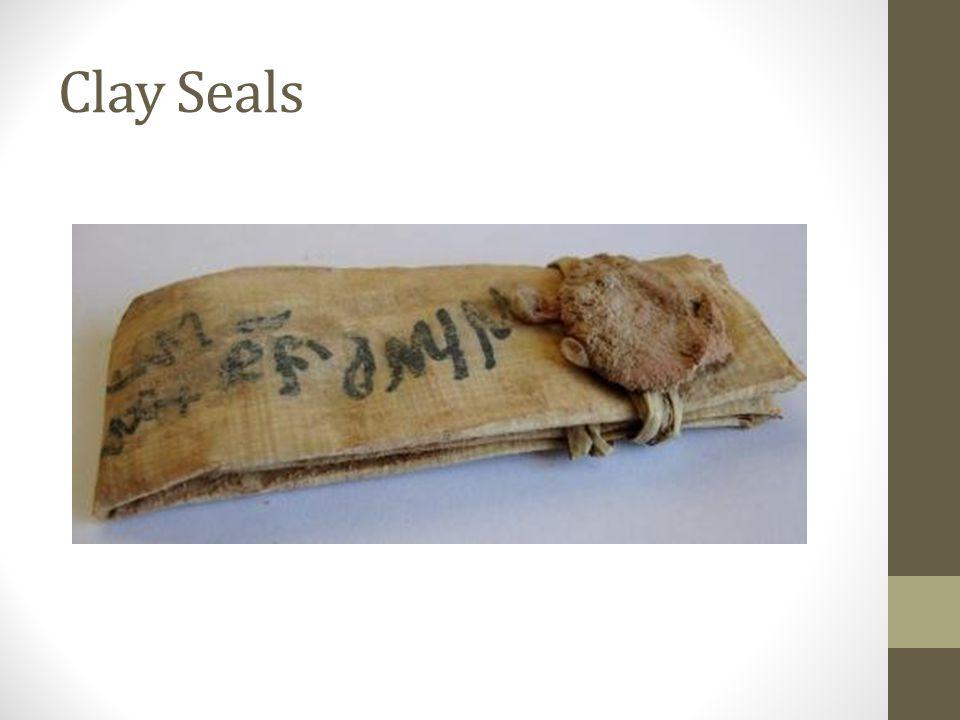 Clay Seals: King Hezekiah