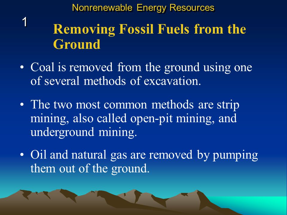 A folded shale layer can trap the oil and natural gas below it. Formation of Oil and Natural Gas 1 1 Nonrenewable Energy Resources The rock layer bene