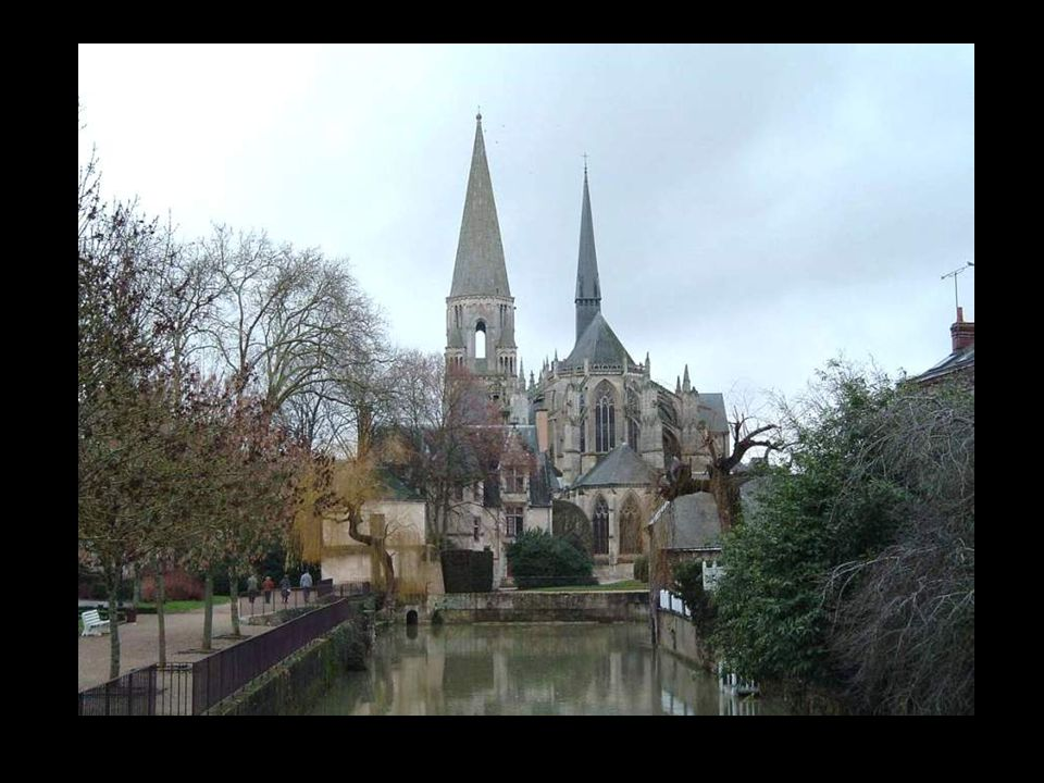 The abbey-church of the Holy Trinity