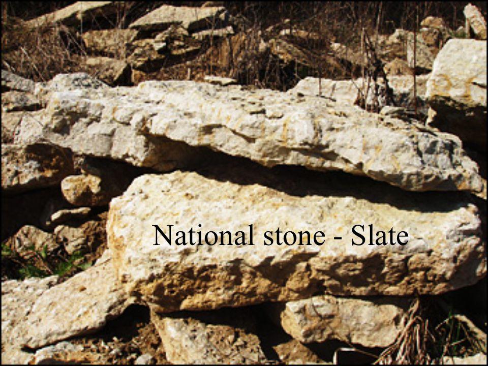 National stone - Slate